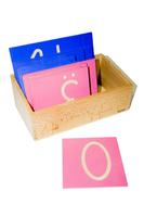 Тактильные буквы (прямые) заглавные