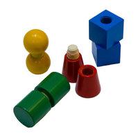 Геометрические фигуры с болтовым соединением