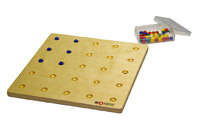 Доска для выкладывания мелких шариков