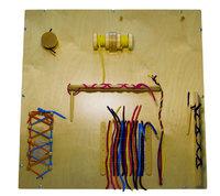 Модуль для развития мелкой моторики (со шнурками)