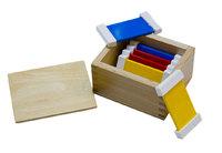 Цветные таблички - ящик №1