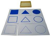 Ящик с карточками для демонстрационного стенда 2.16