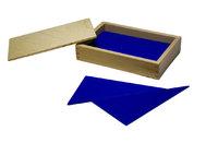 Голубые конструктивные треугольники