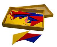 Треугольники для работы с прилагательными