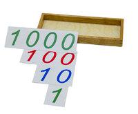 """Карточки  для """"Введения СИМВОЛОВ 1, 10, 100, 1000"""""""