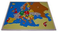 Карта Европы (пазлы) (50*60 см.)