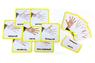 Трехчастные карточки «Кисть»