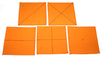 Салфетки для складывания 5шт (3-6)