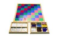 Шахматная доска для десятичных дробей