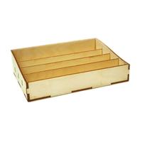 Коробка с 4 ячейкам