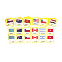 Чтение с классификацией «Флаги государств»