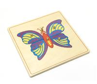 Строение бабочки (пазлы)